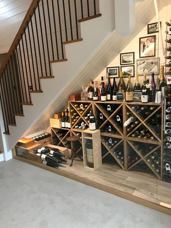 mẫu phòng khách nhà ống đẹp có cầu thang - Housedesign