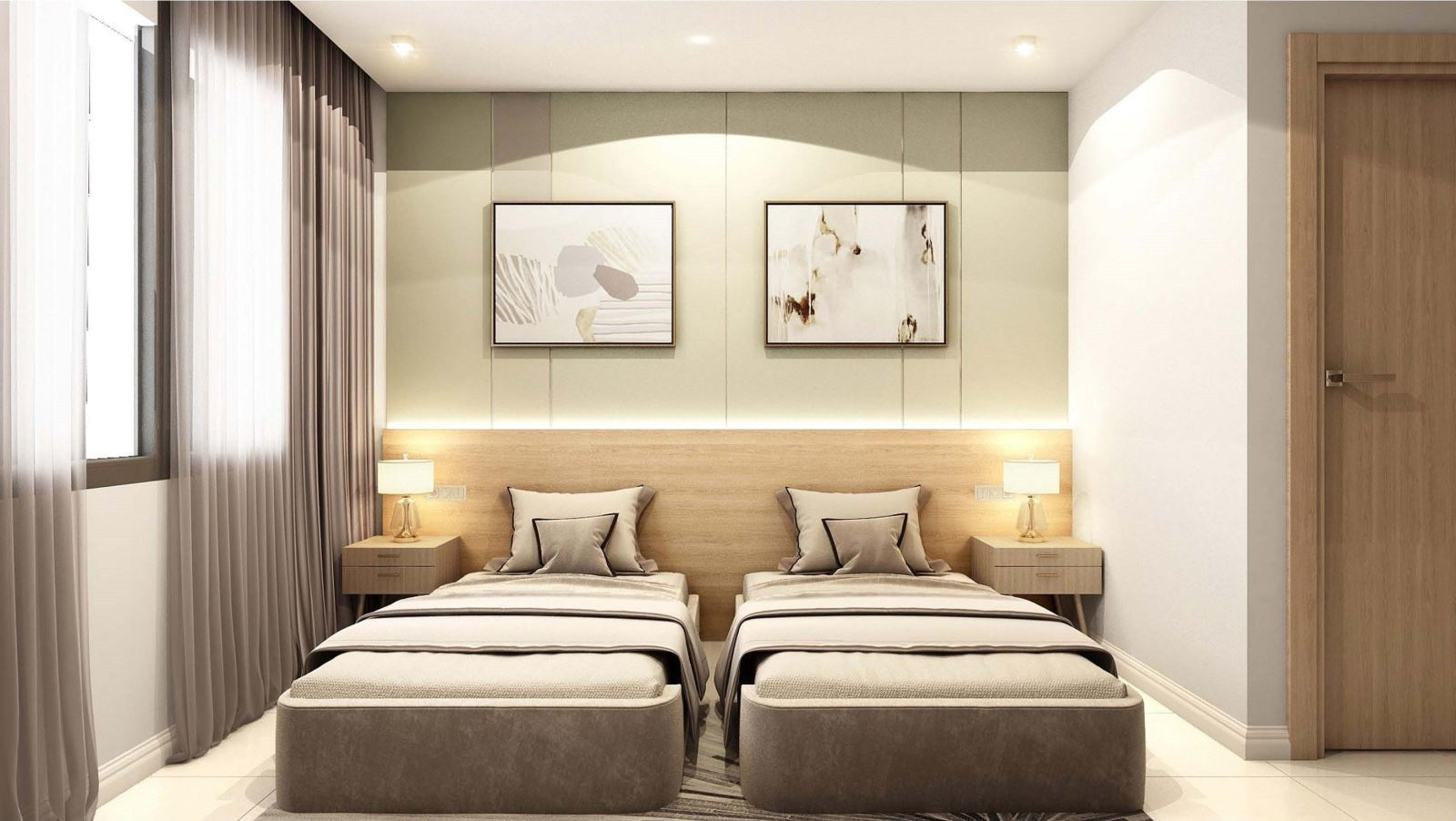 mẫu thiết kế nội thất khách sạn - Housedesign