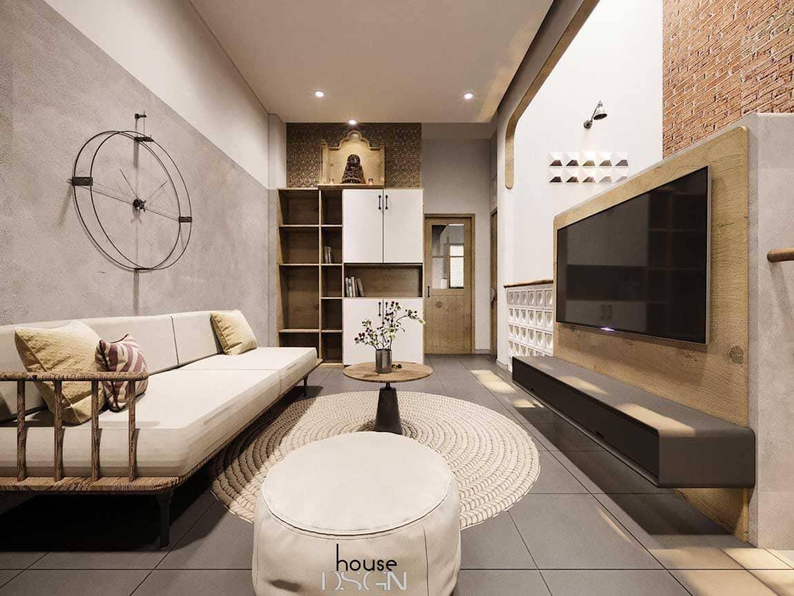 nội thất phòng khách - Housedesign