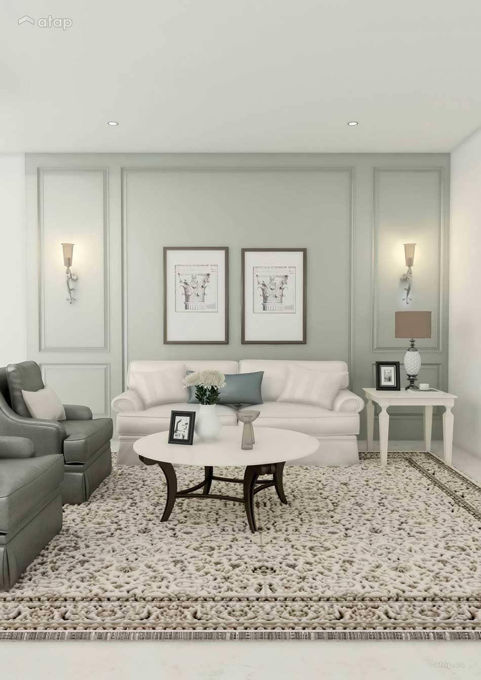 nội thất phòng khách chung cư thông minh - Housedesign