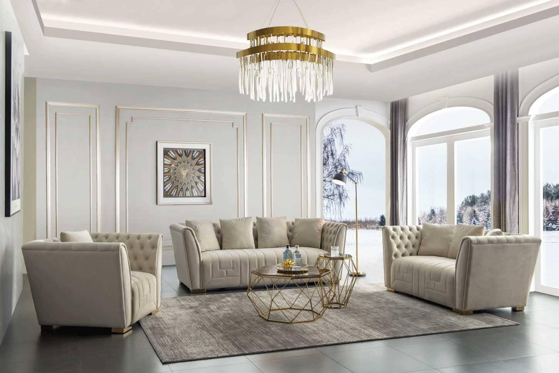 nội thất phòng khách thiết kế tiện lợi - Housedesign