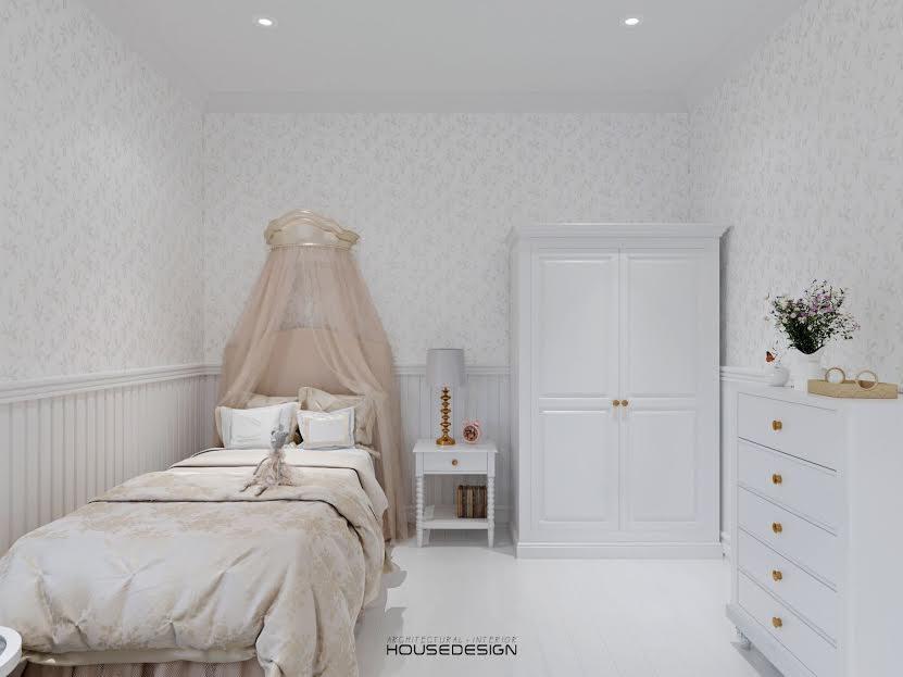 mẫu phòng ngủ đẹp cho bé gái - Housedesign