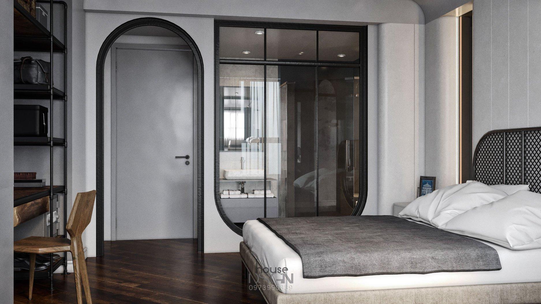 nội thất phòng ngủ khách sạn 4 sao - Housedesign