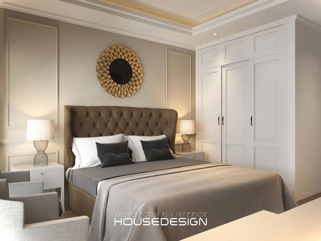 nội thất phòng ngủ khách sạn - Housedesign