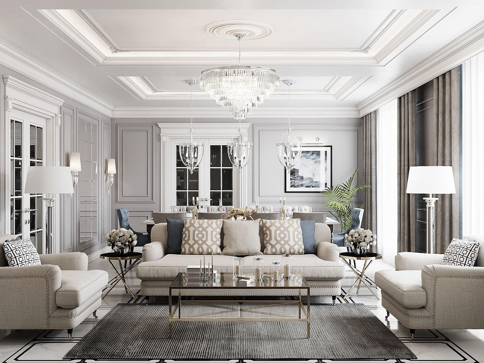 nội thất thiết kế phòng khách