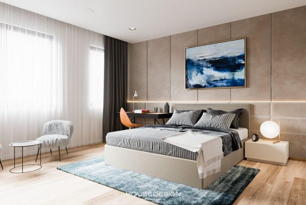 phòng ngủ đẹp sang trọng - Housedesign