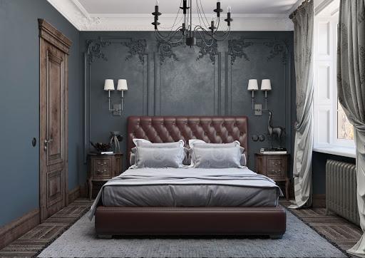 phòng ngủ khách sạn tân cổ điển đẹp