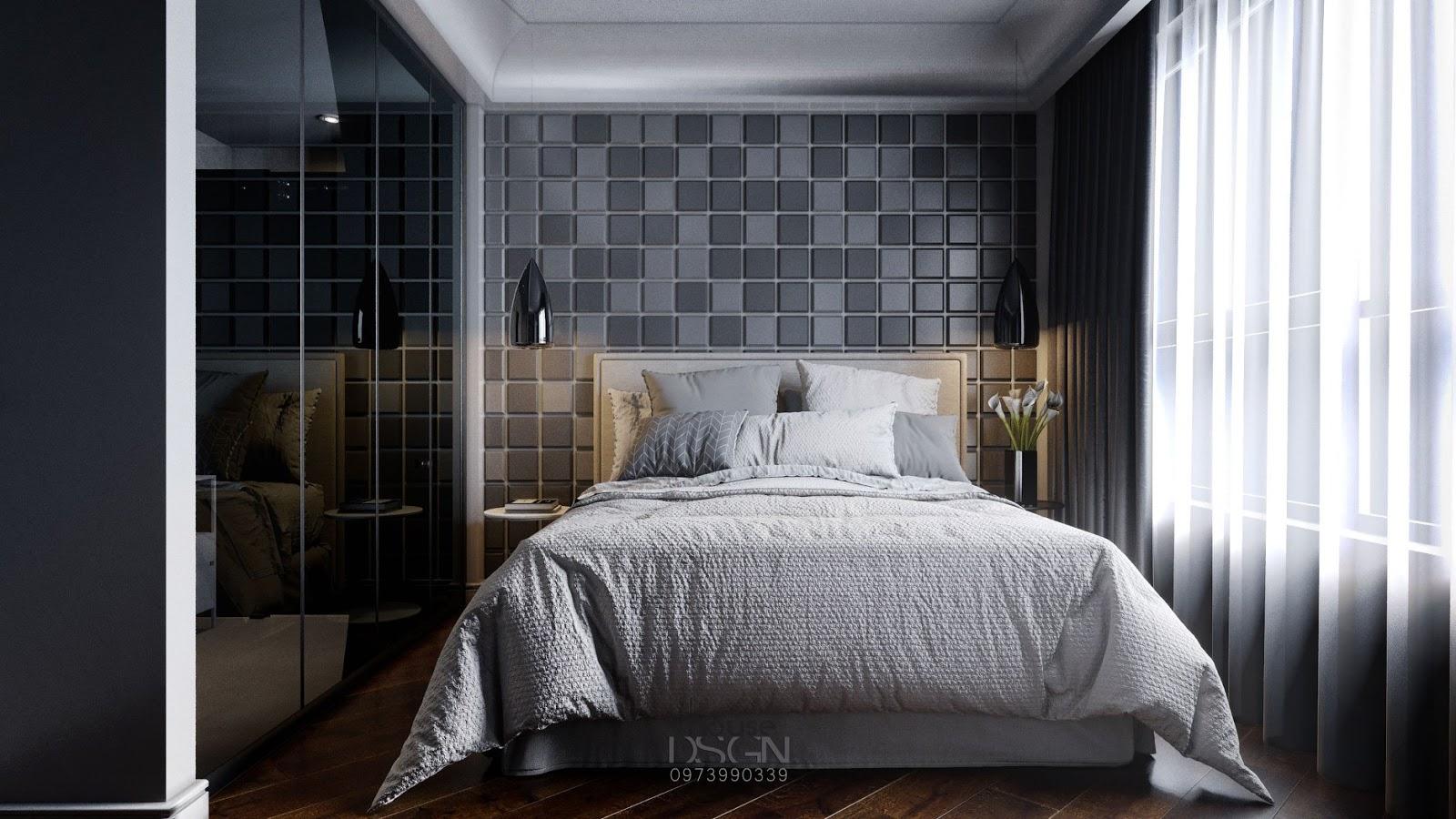 Phòng ngủ thanh lịch