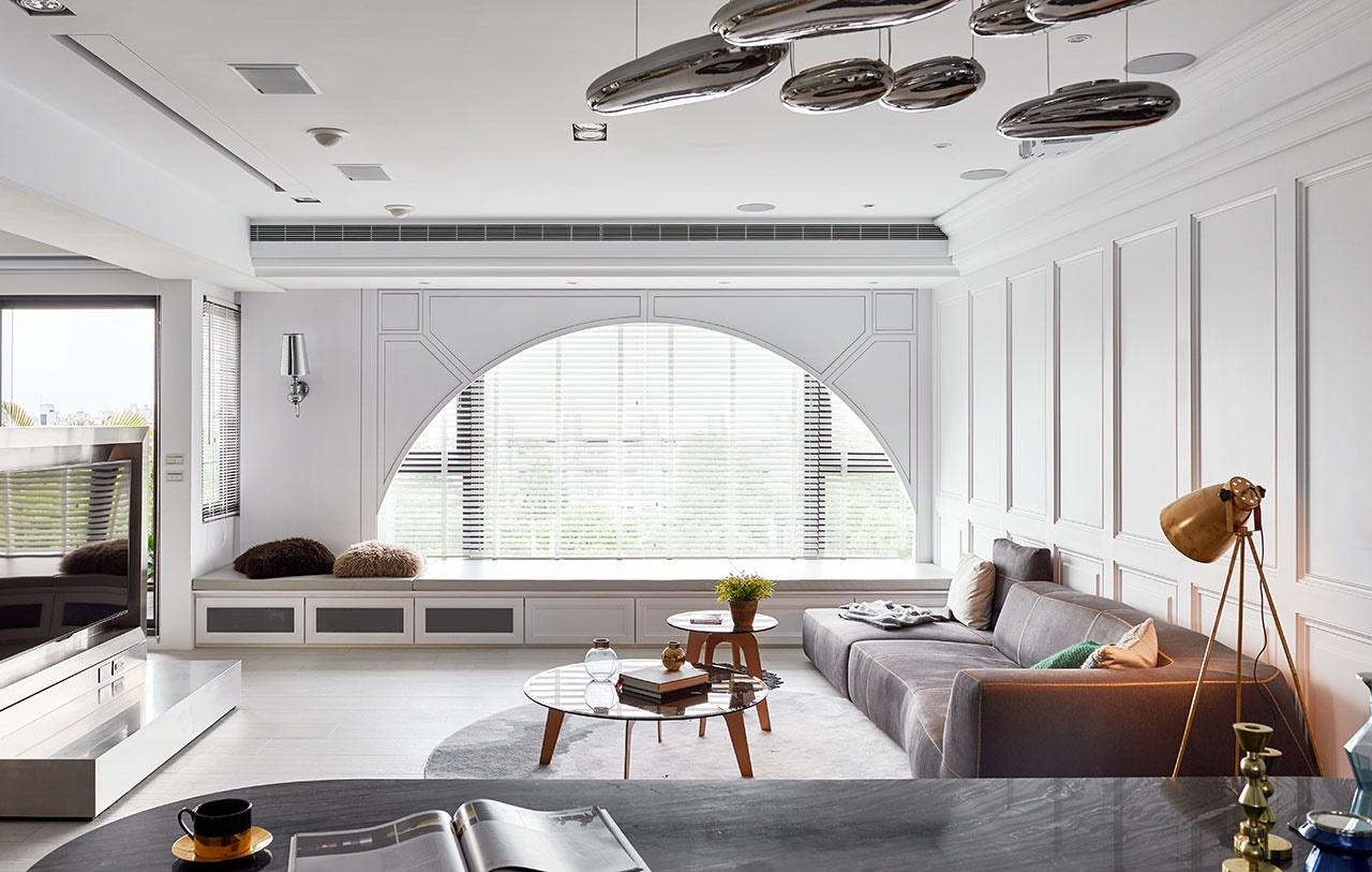 phòng khách tối giản - Housedesign