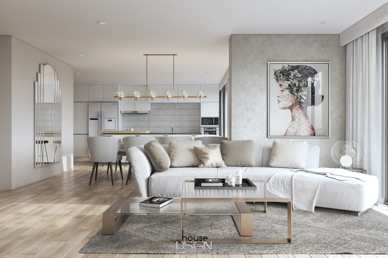 phòng ngủ tối giản - Housedesign