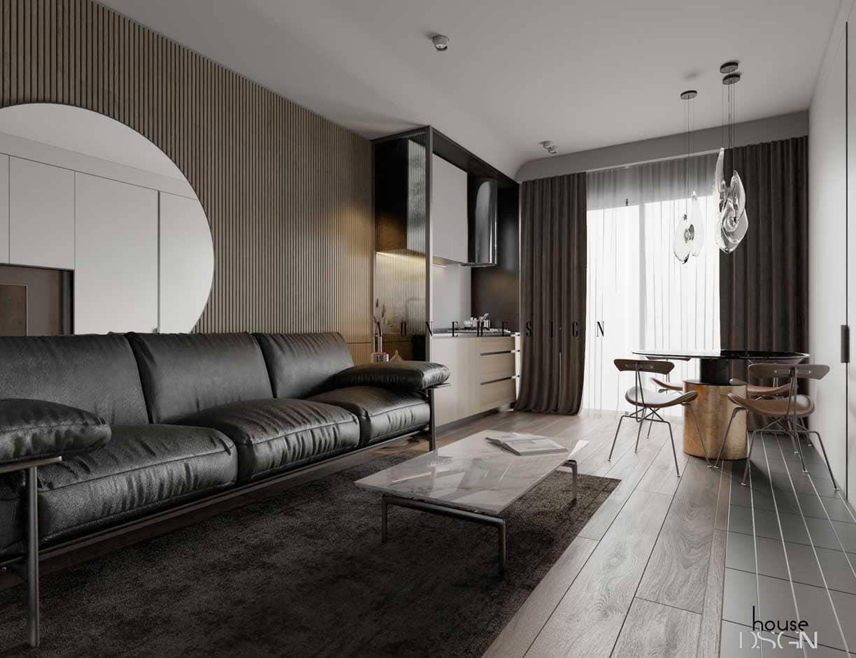 thiết kế nội thất chung cư cao cấp - Housedesign