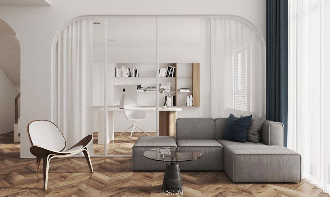 thiết kế nội thất phòng khách sang trọng - Housedesign