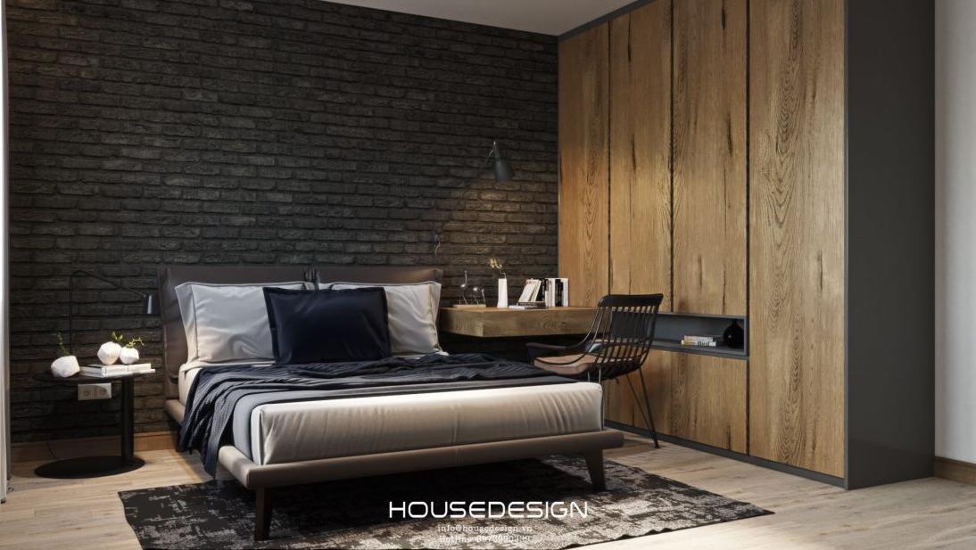 thiết kế nội thất phòn ngủ đẹp đơn giản