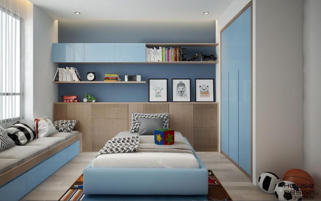thiết kế nội thất phòng ngủ cho bé - Housedesign
