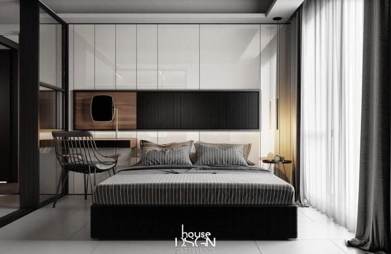 thiết kế phòng ngủ đẹp tinh tế - Housedesign