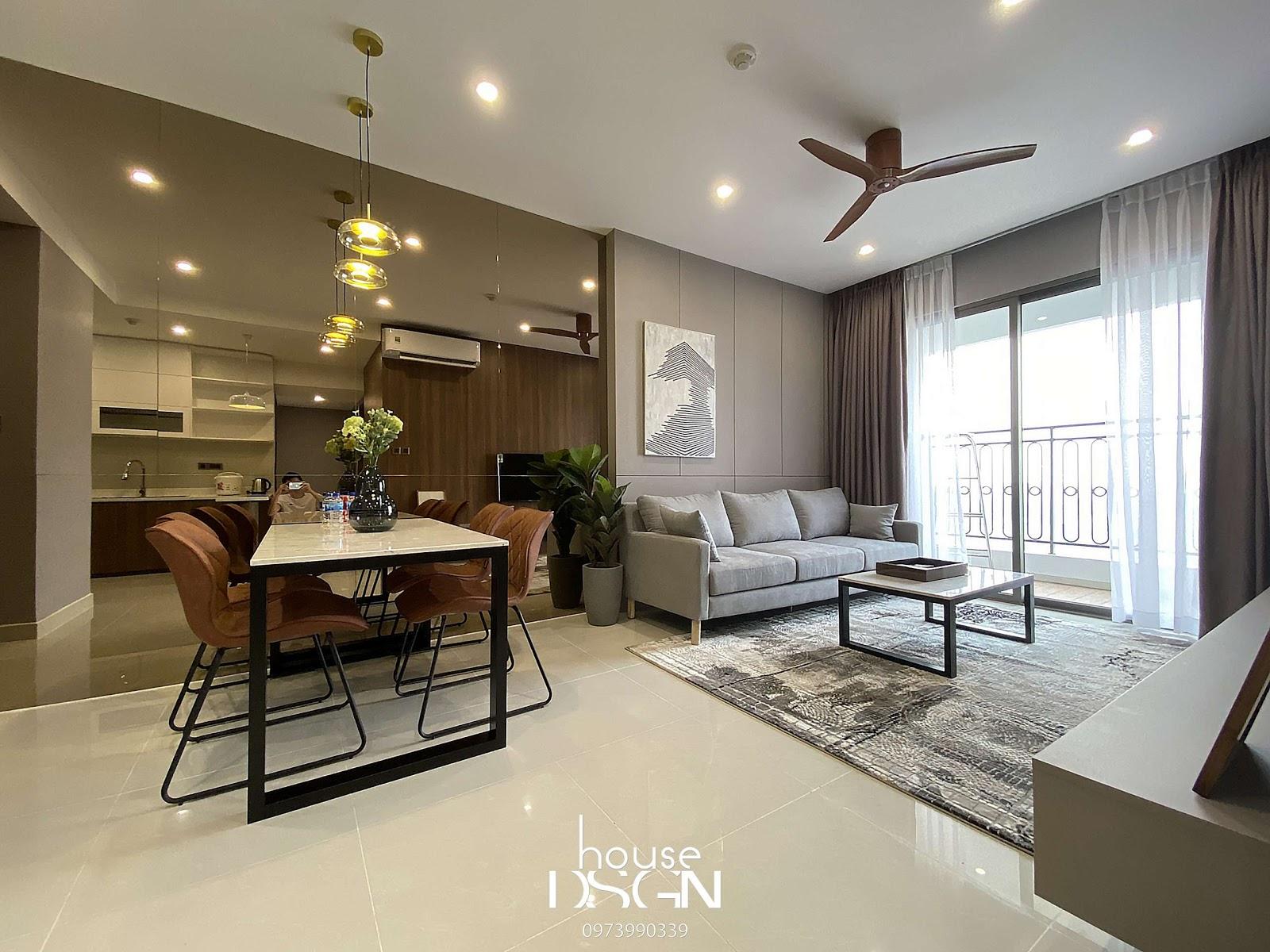thiết kế phòng khách nhỏ đẹp - Housedesign