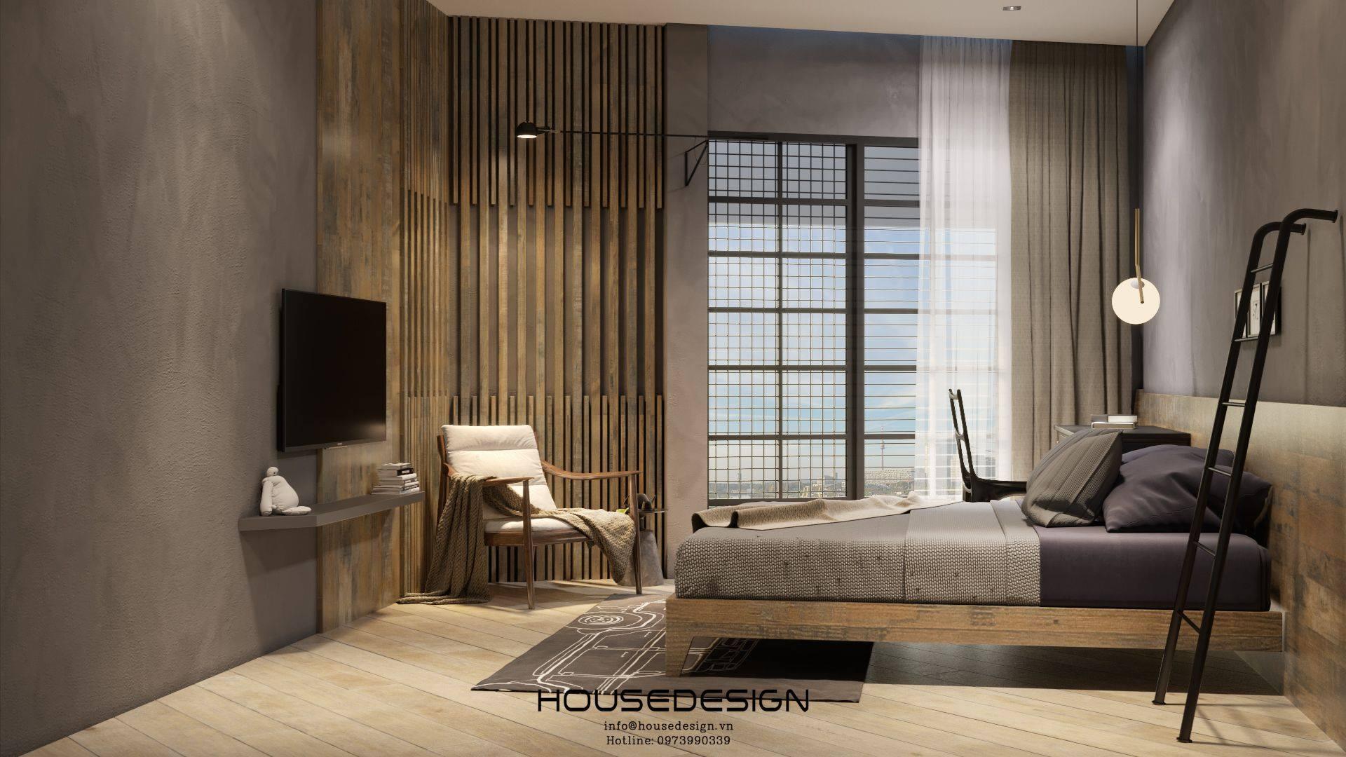 thiết kế phòng khách sạn - Housedesign