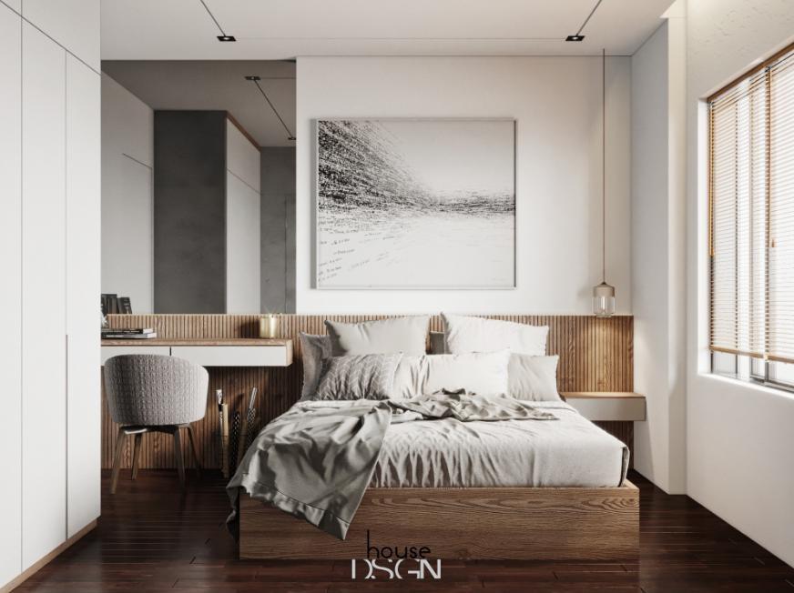 thiết kế phòng ngủ đẹp hiện đại - Housedesign