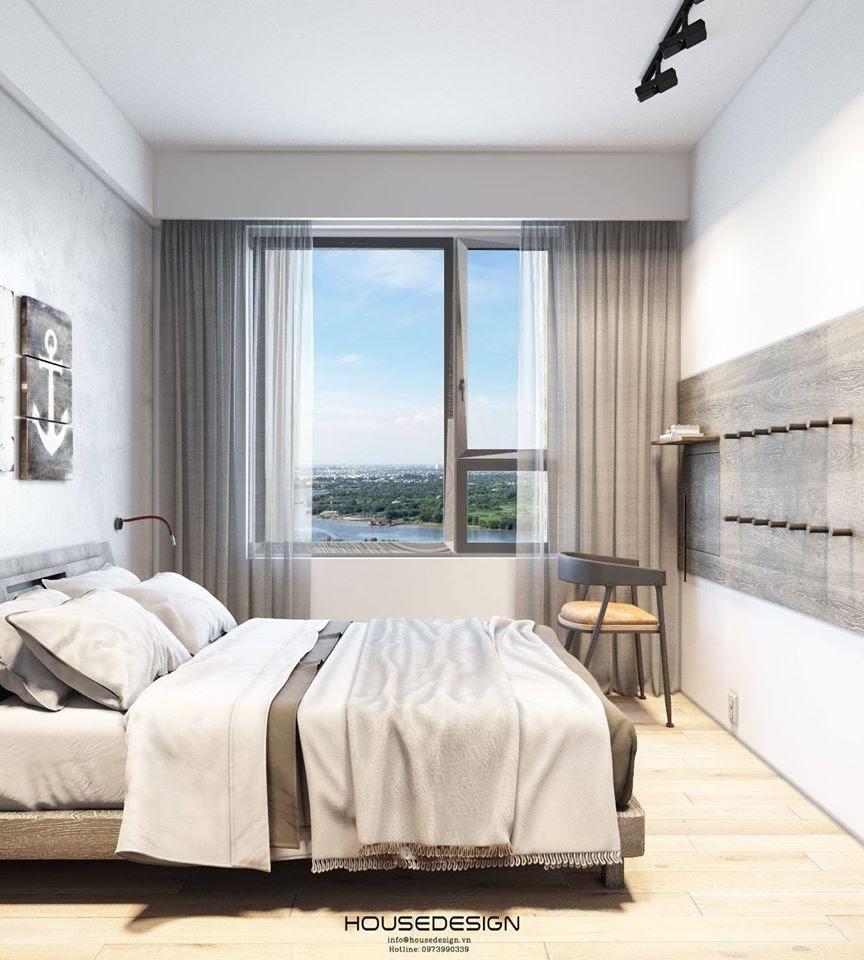 Thiết kế phòng ngủ màu trung tính