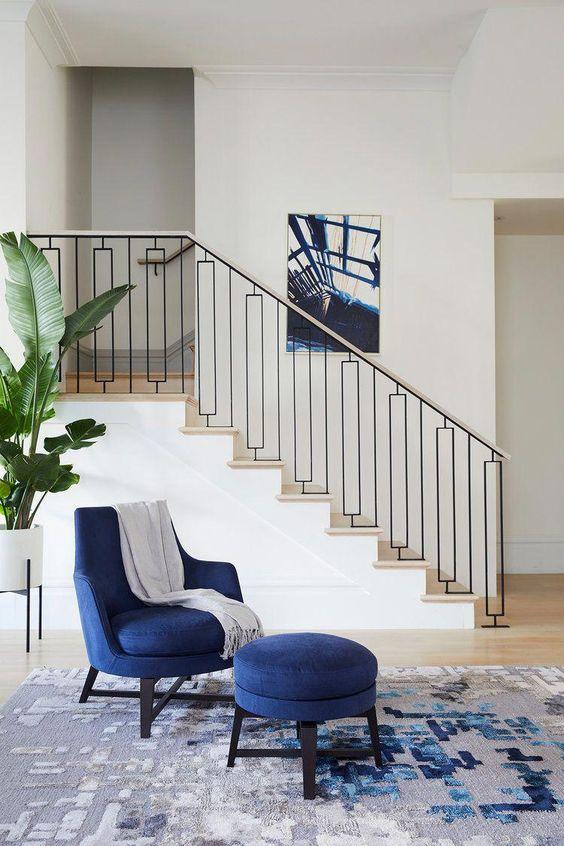 trang trí cầu thang phòng khách đẹp - Housedesign