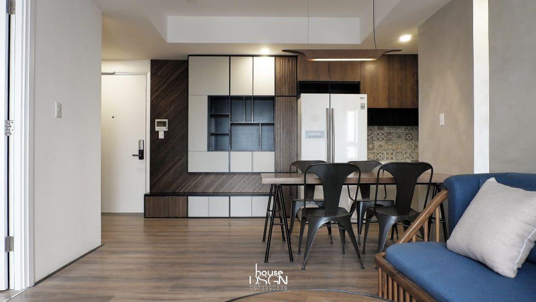 Nhà bếp căn hộ chung cư 70m2