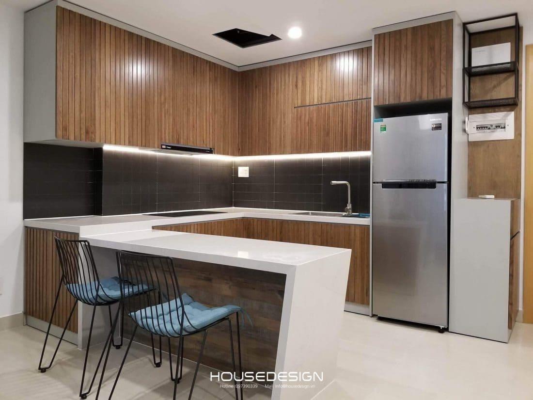 Nội thất phòng ăn căn hộ 70m2