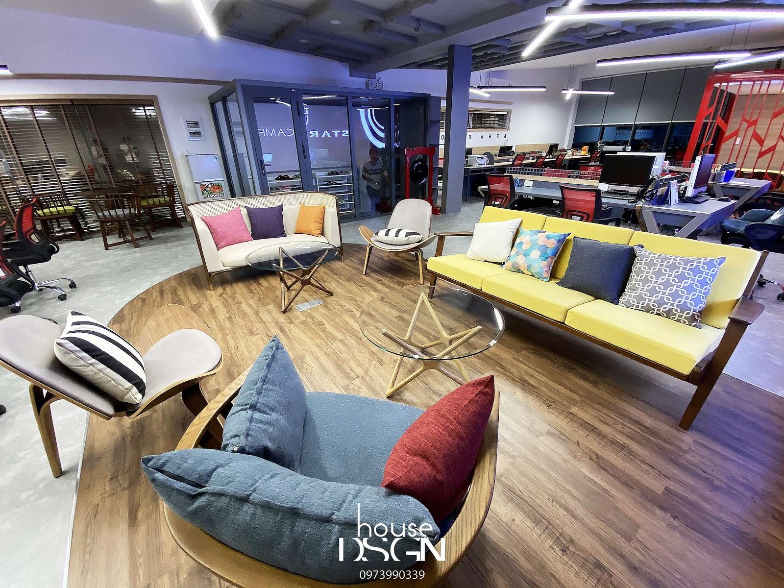 mẫu thiết kế nội thất văn phòng tại tphcm