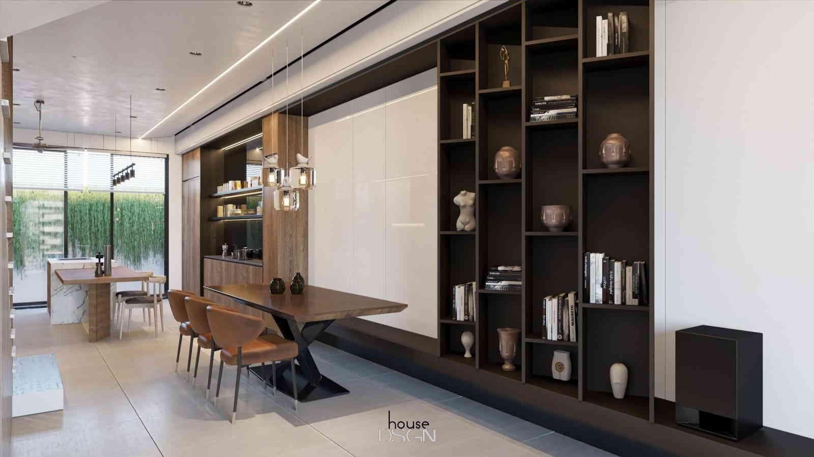 nội thất phòng khách được thiết kế độc đáo