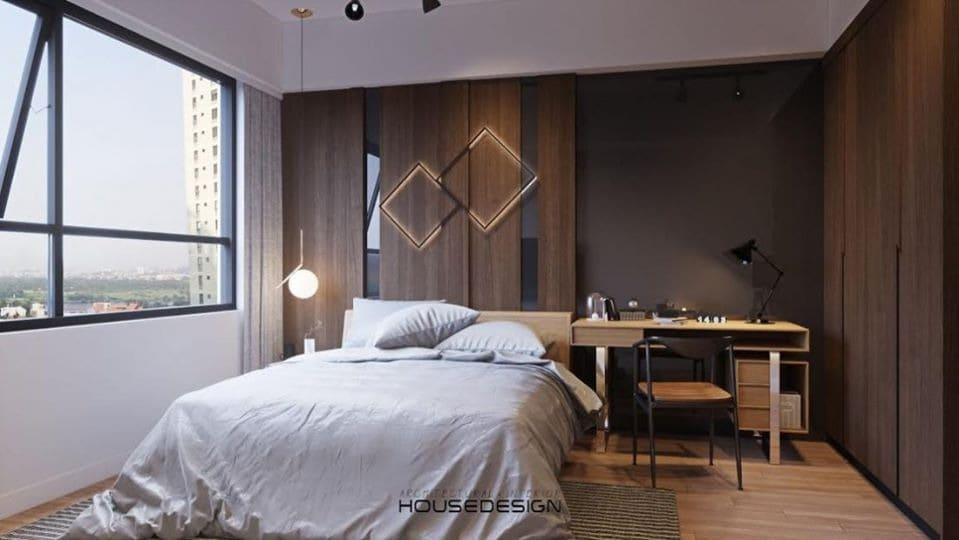 nội thất căn hộ 2 phòng ngủ hiện đại