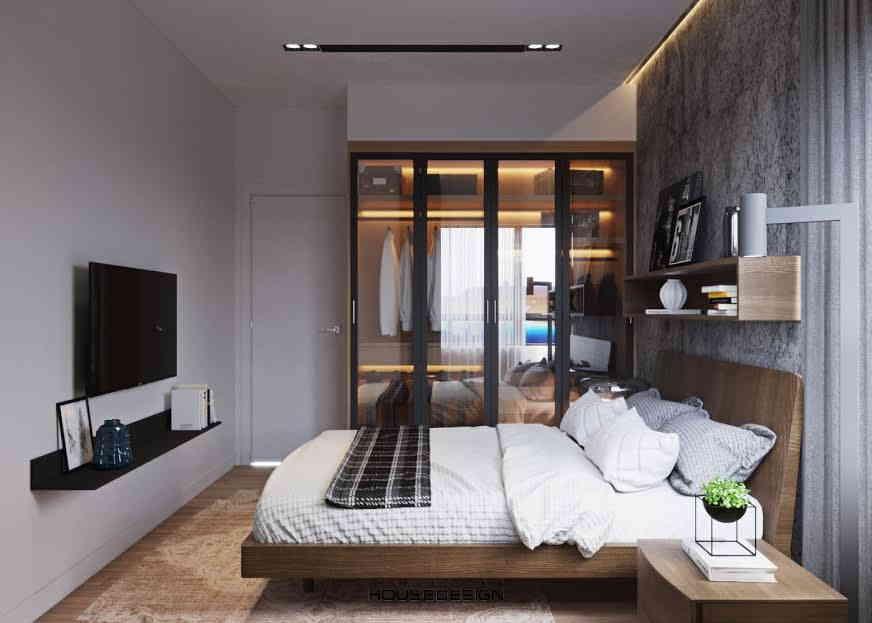 nội thất hiện đại trong phòng ngủ