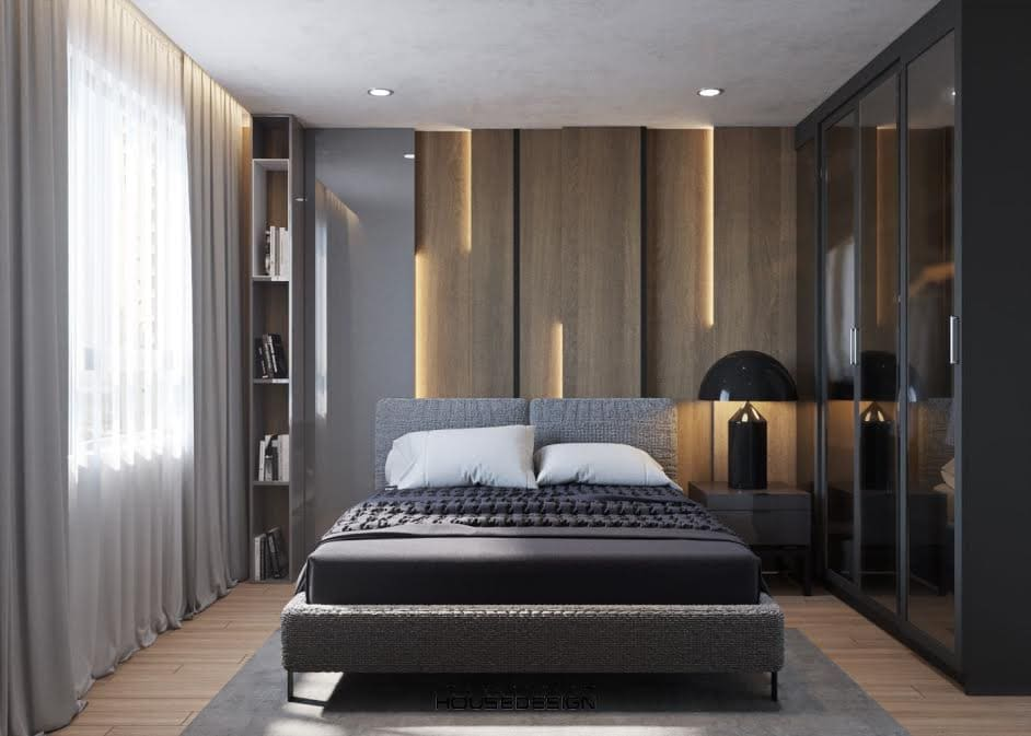thiết kế nội thất căn hộ 2 phòng ngủ