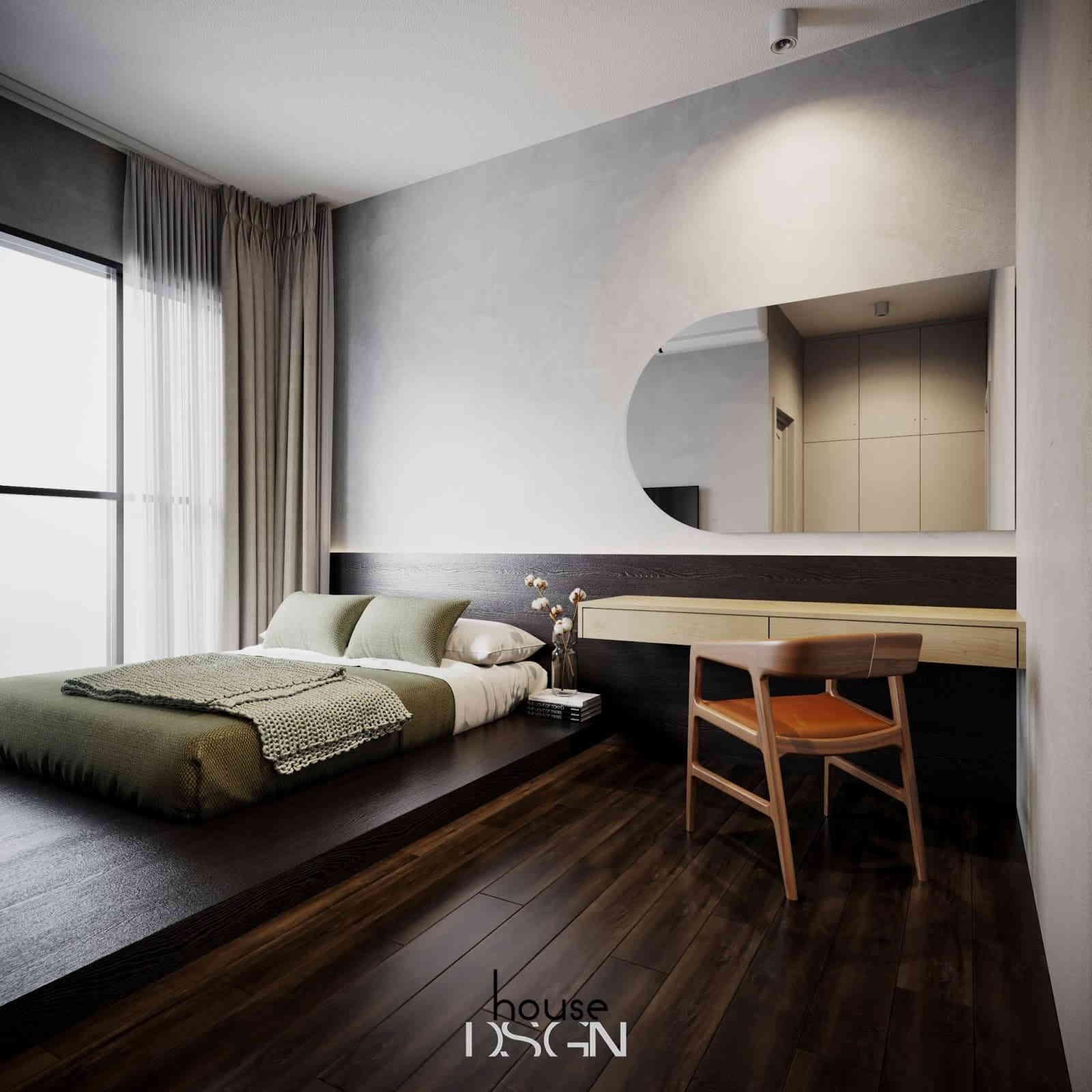 phòng ngủ trong thiết kế đơn giản