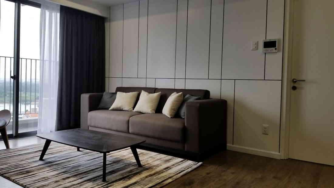 nội thất phòng khách cho căn hộ chung cư 90m2