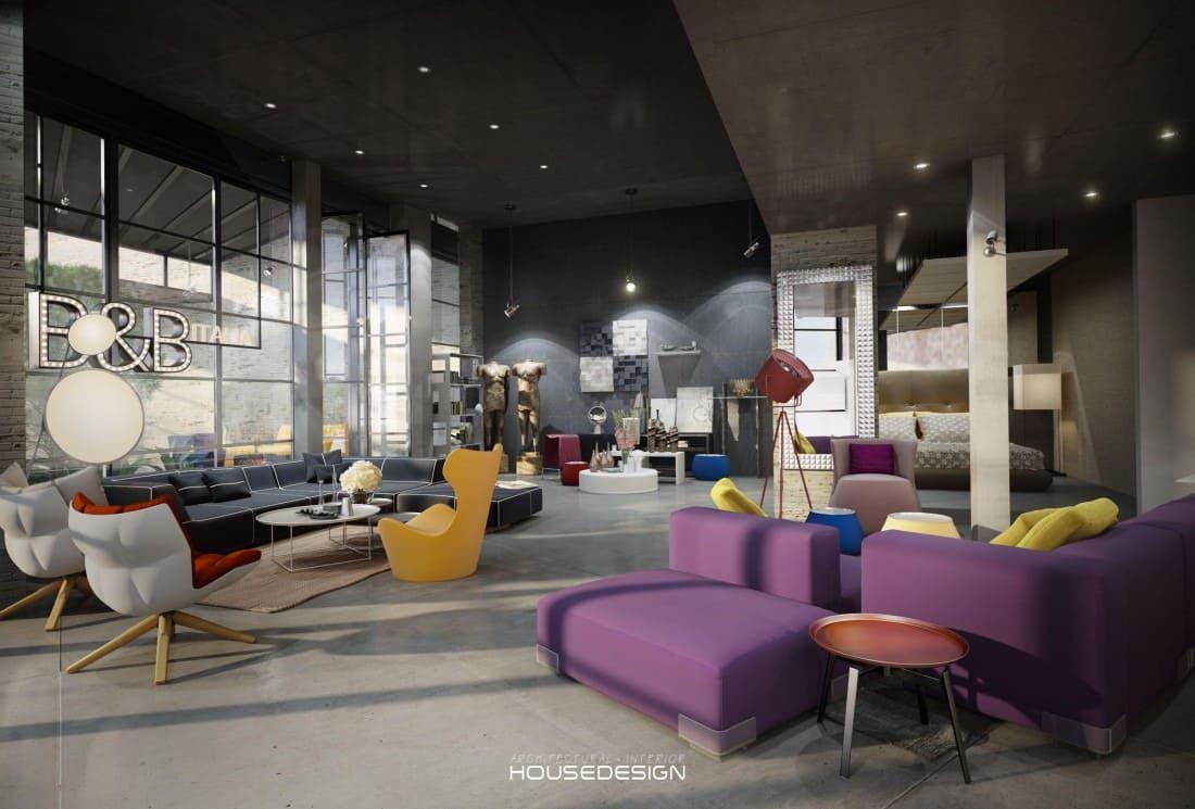 Thiết kế nội thất phòng tiếp khách