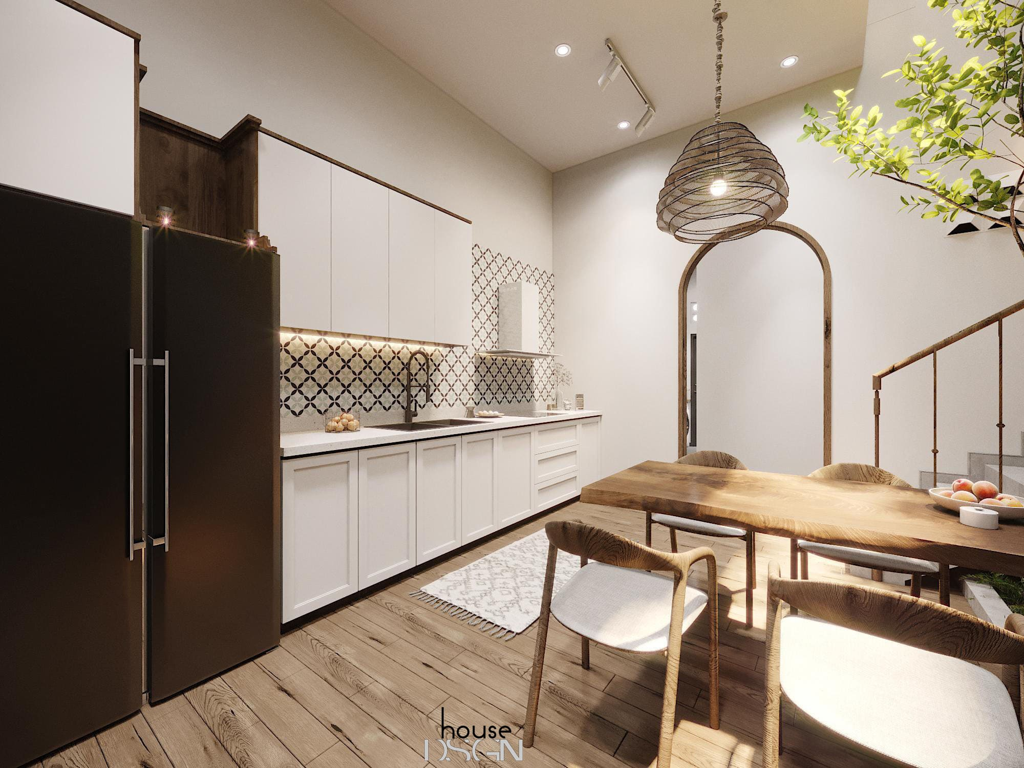 Interior design of town houses 2020