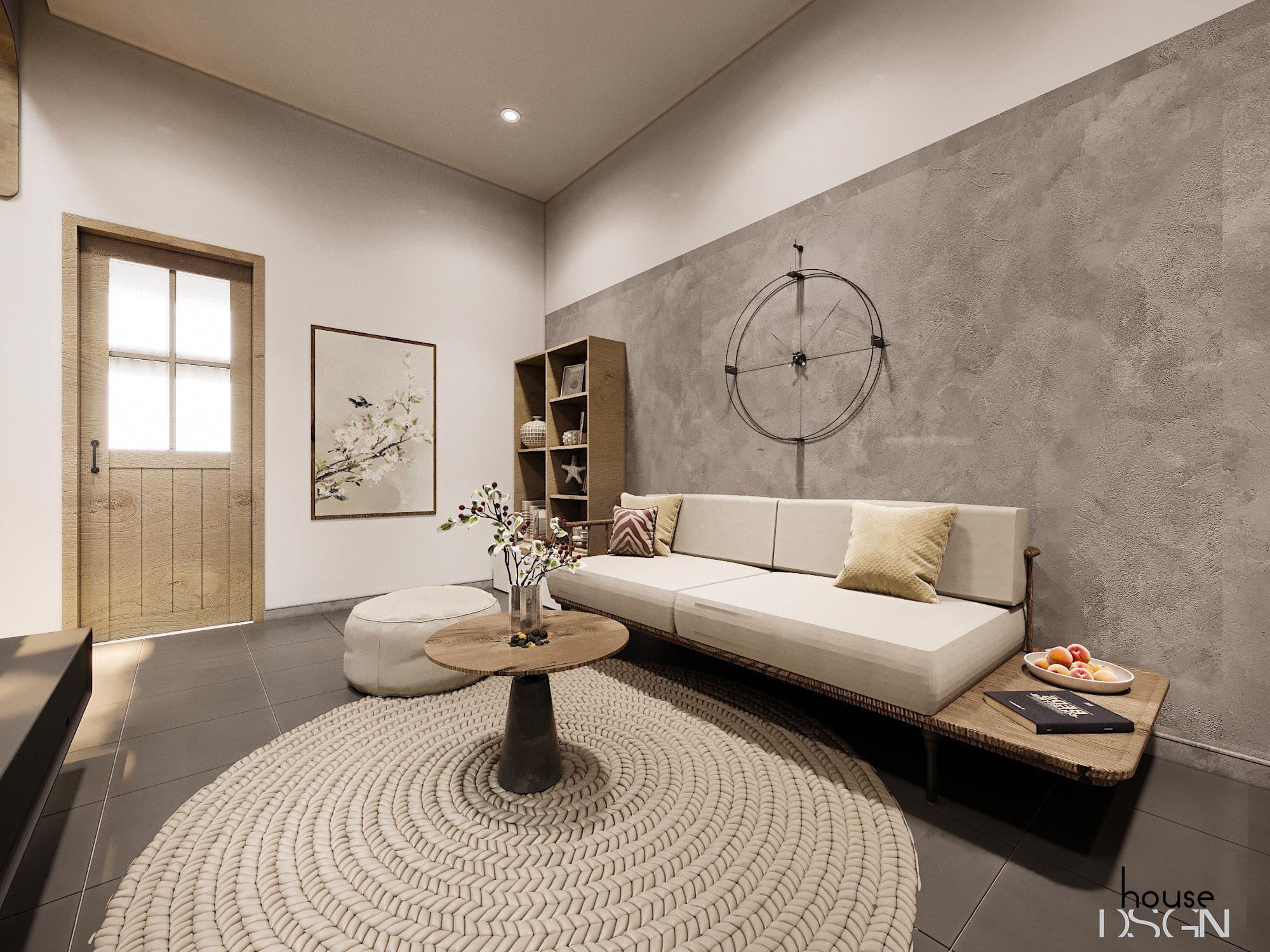 mẫu nội thất nhà phố cho phòng khách