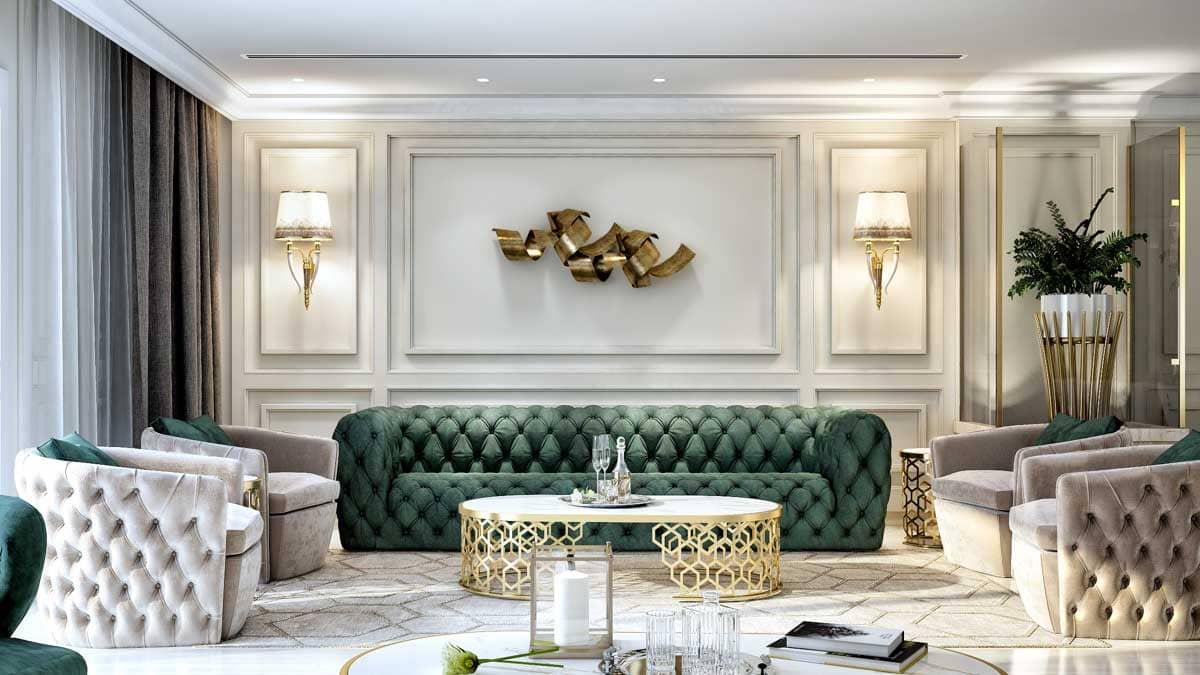 nội thất phong cách luxury